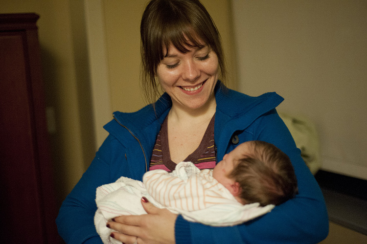 Our photographer, Stephanie, handed over the camera for a few shots so she could hold Miles, too.