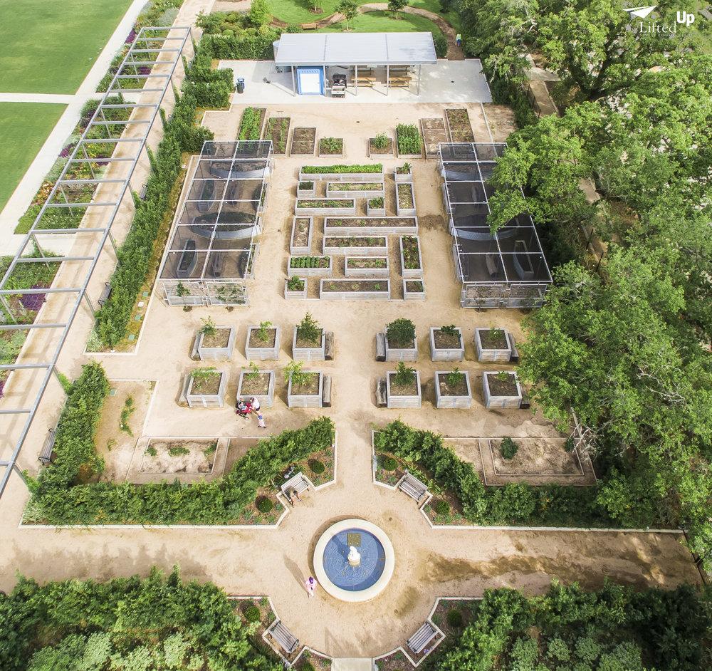 urban aerial photograph