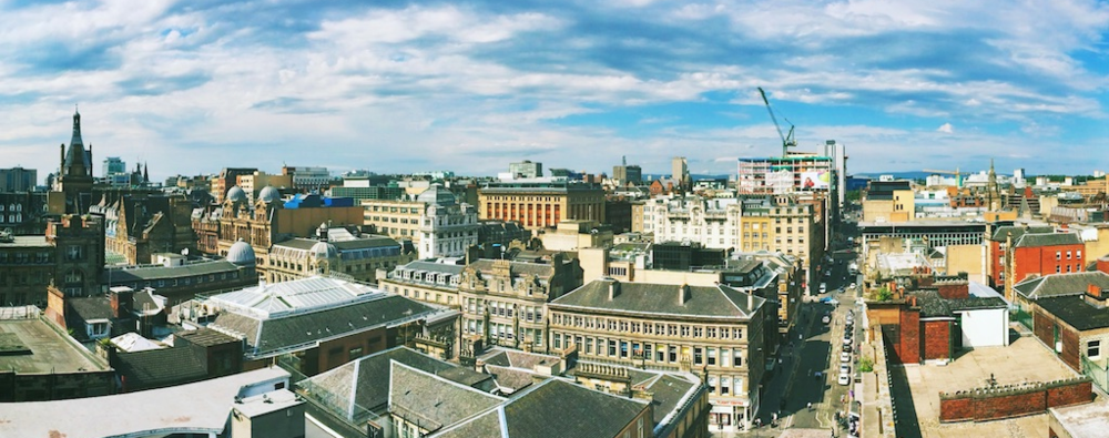 Panorama from The Glasgow Lighthouse, Meaghan Li, 2014