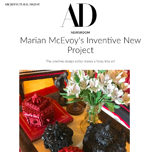Architectural Digest - Marian McEvoy debuts at Eerdmans Fine ArtMay 2017