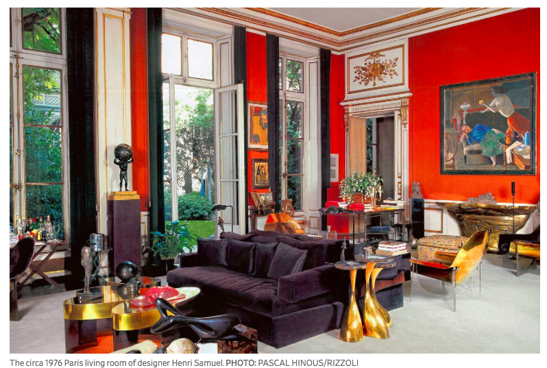 Wall Street Journal - Recreate a Glamorous 1970s Parisian Living RoomFebruary 2018