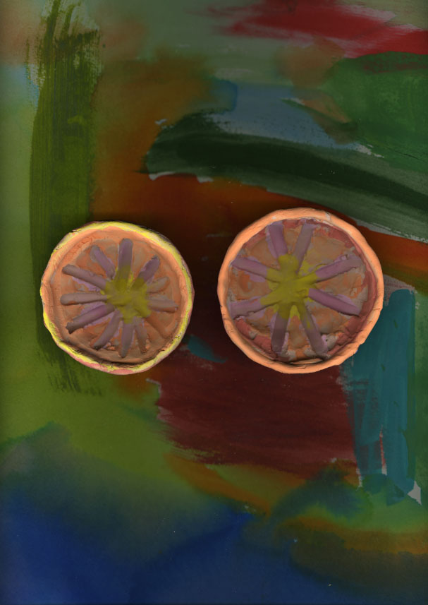 When Grapefruits live on Paintings I