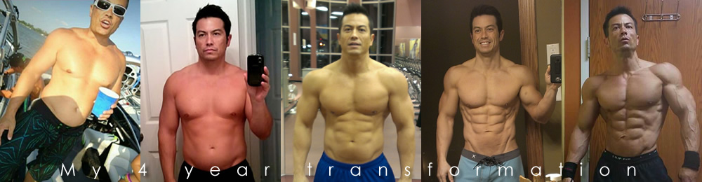 My 4 year transformation...