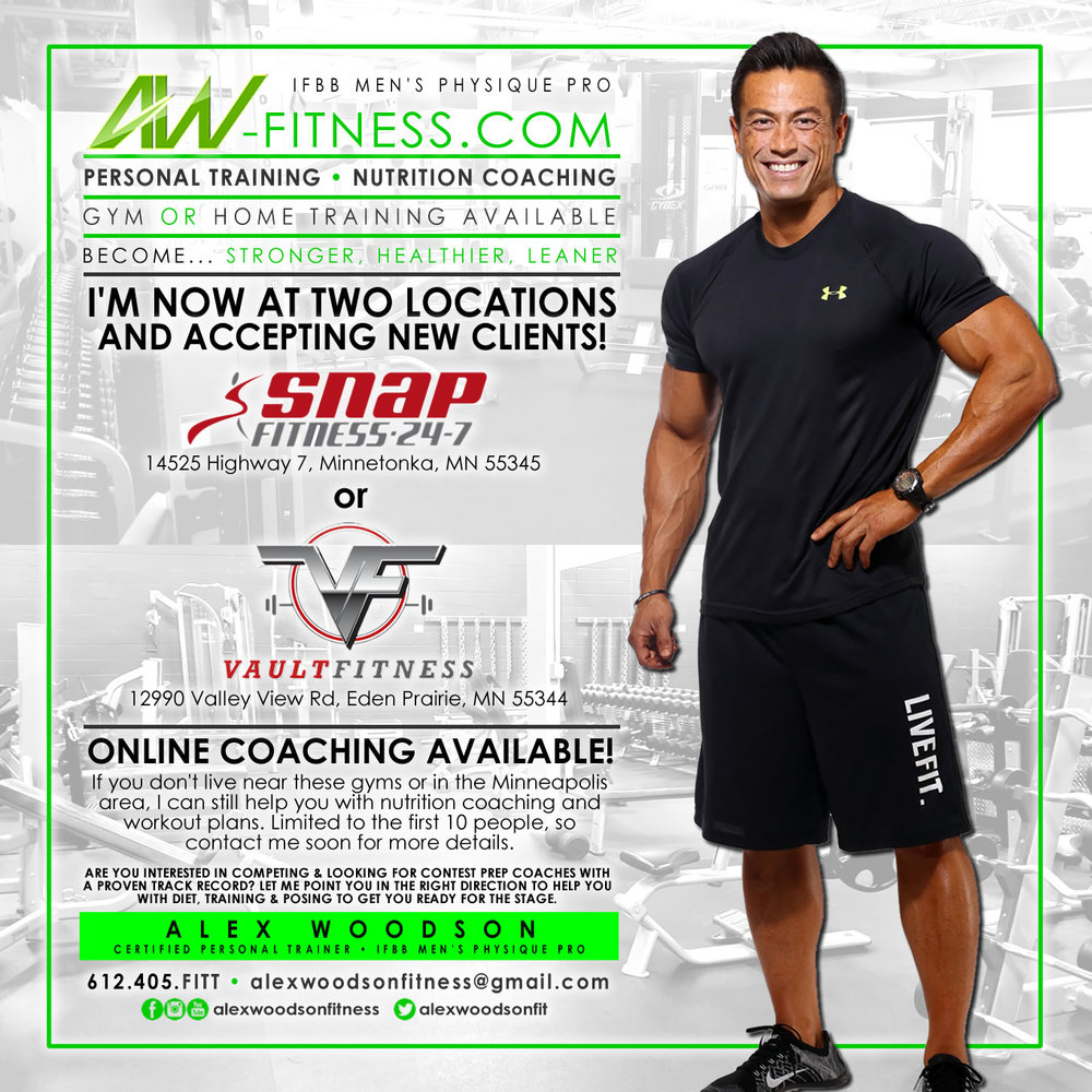 Aw fitness personal trainer nutrition coach mens physique pro flyersample2g 1betcityfo Image collections