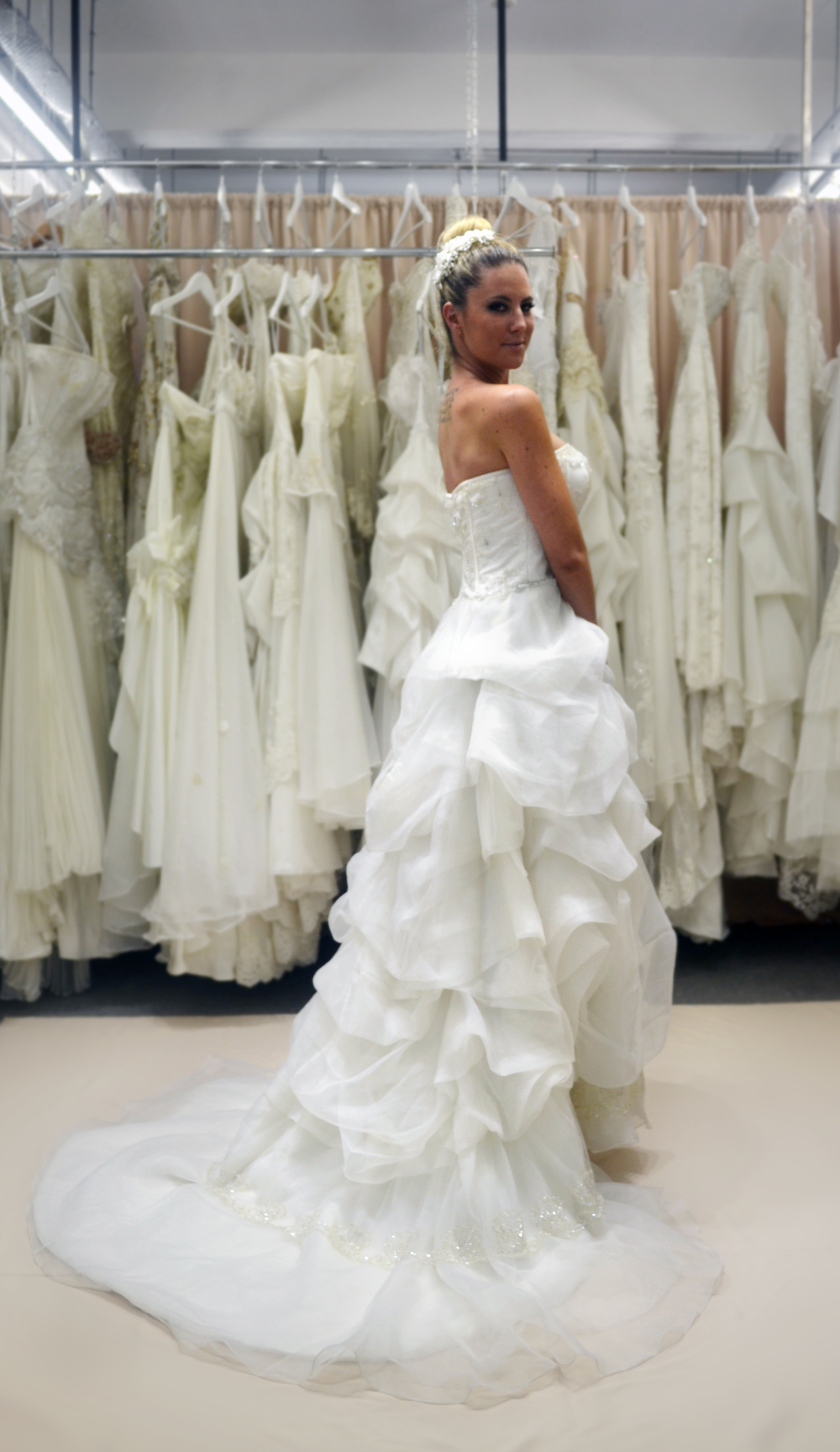 Custom made wedding dress Brisbane