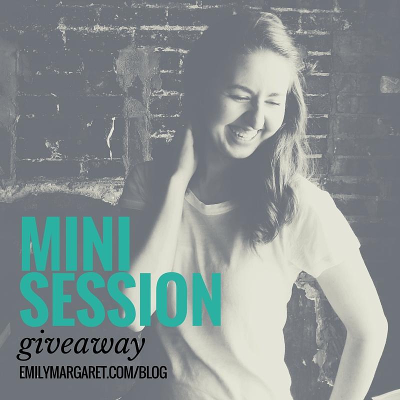 EMP Mini Session Giveaway
