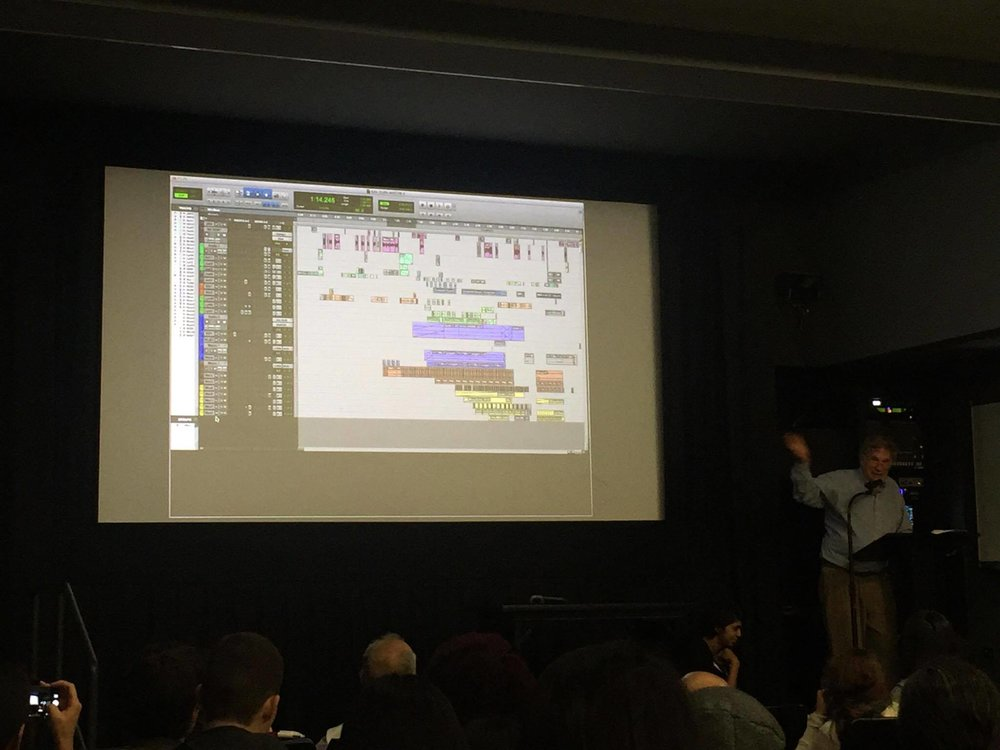 Audio Mixing screen shot for a Radio Lab episode