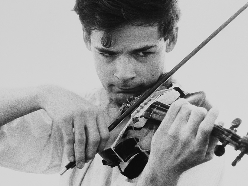 Tony Conrad by Will Cameron
