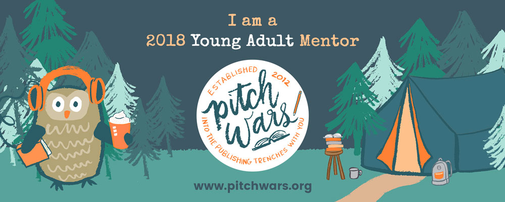 Hi there! I'm a Pitch Wars 2018 Young Adult Mentor!