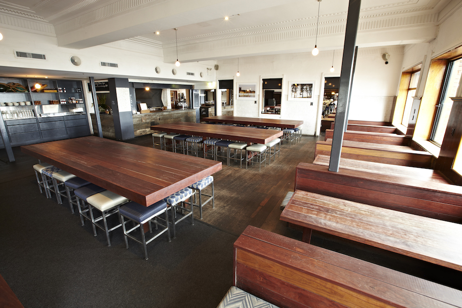 Steyne Hotel Manly Booths and Tables