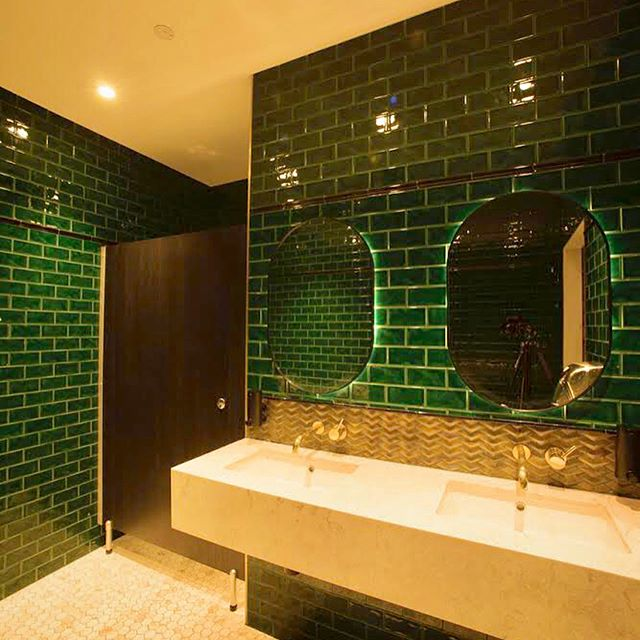 40 weeks of @thewentworthhotel shown in 40 days! Happy Monday, here's a snazzy restroom to make you green with envy! Swipe left for the before 👈Here comes the #restrooms #week5 #beforeandafter . . . . . #renovation #heritagerefurbishment #heritage #designandconstruct #design #caravan #caravanbar #beergarden #beer #timber #concrete #pub #hotel #hotels #homebush #bistro #food #tab #building #pokies #landscape #visitnsw #visitsydney #visitwesternsydney #lighting