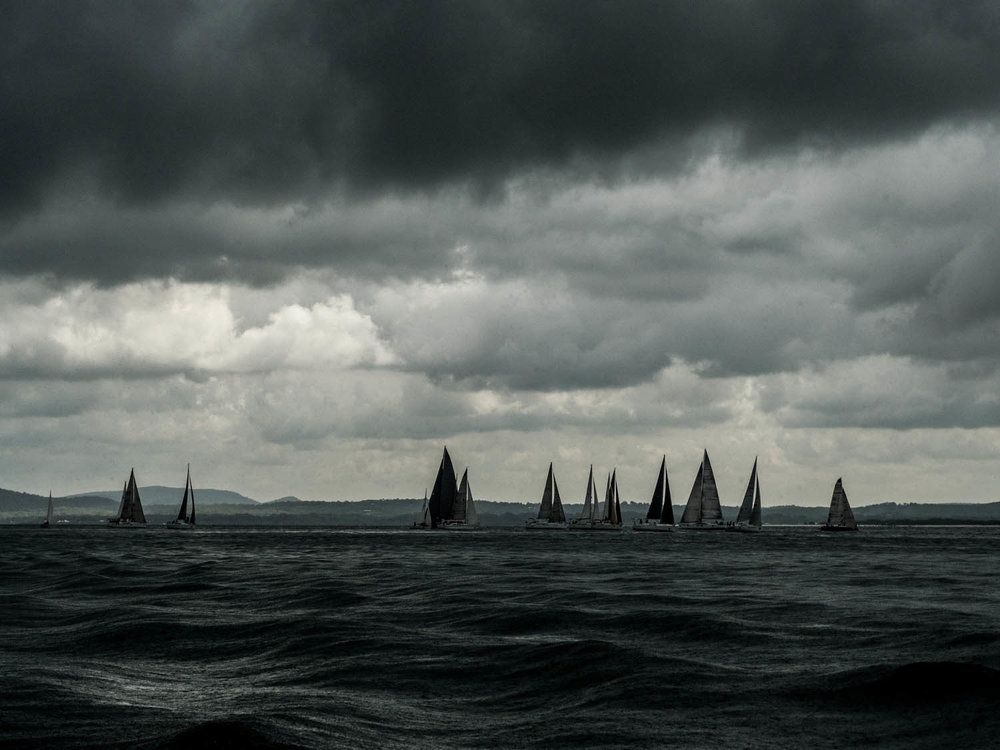 The Squall #2 Sail Port Stephens 2019 - Copyright: Andrew Richardson www.crossfirephotography.com. This unique image is available for sale as a large format print - please visit the online store.
