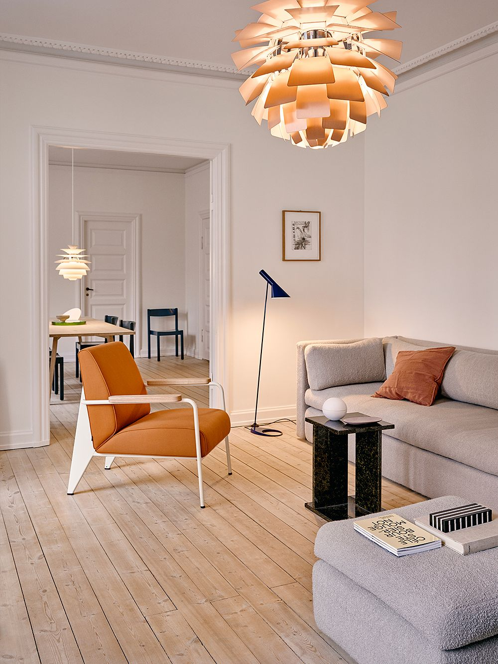 PH Artichoke為空間營造出豐饒恬靜的視覺氛圍