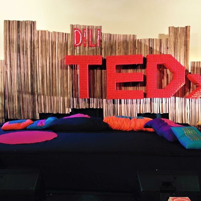 Stage TEDxDili 2016.