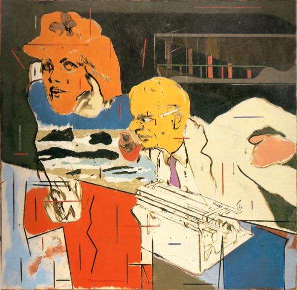 knowbysight :     R.B. Kitaj