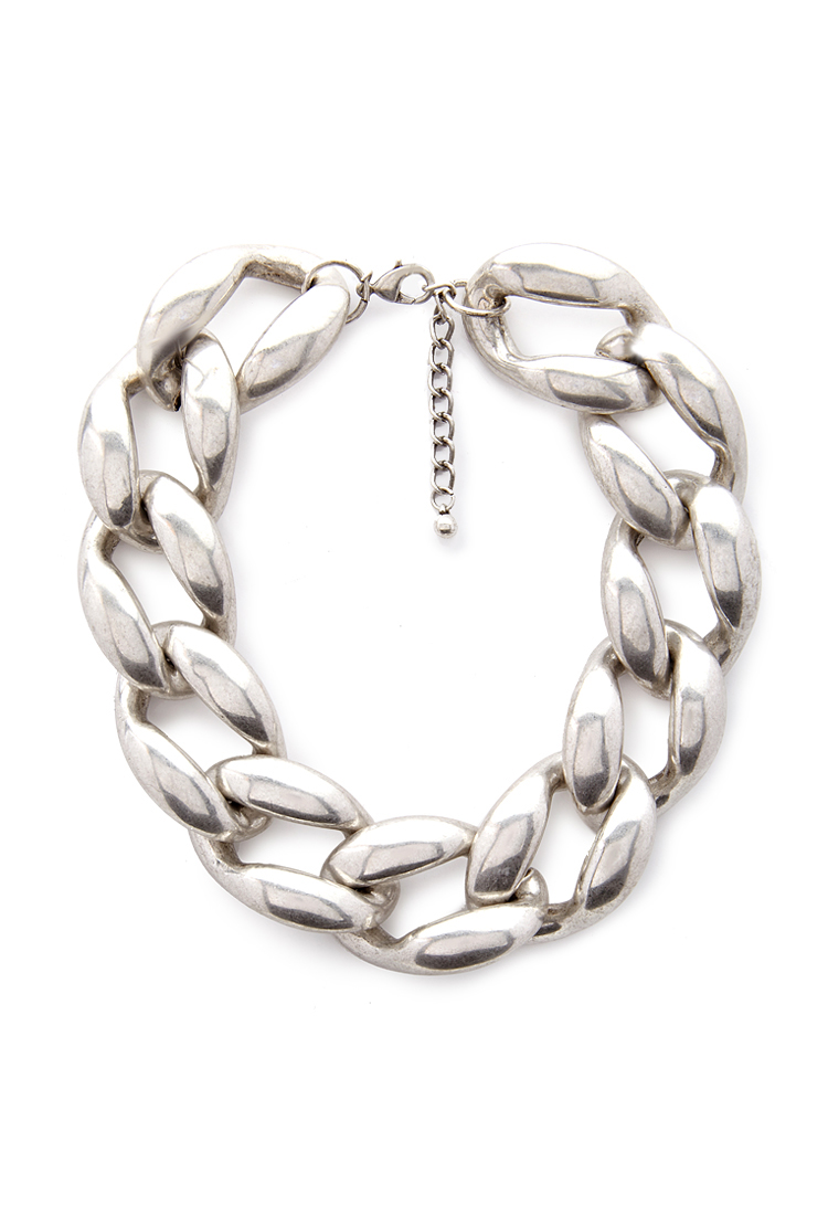 Forever 21  Chain Link Collar Necklace $12   www.forever21.com
