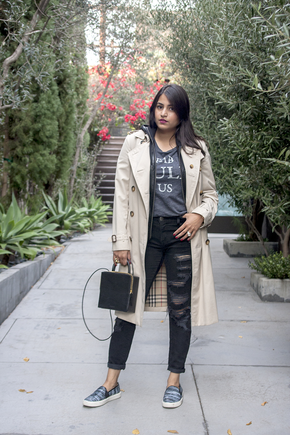 Burberry Trench Coat- Cali Casual