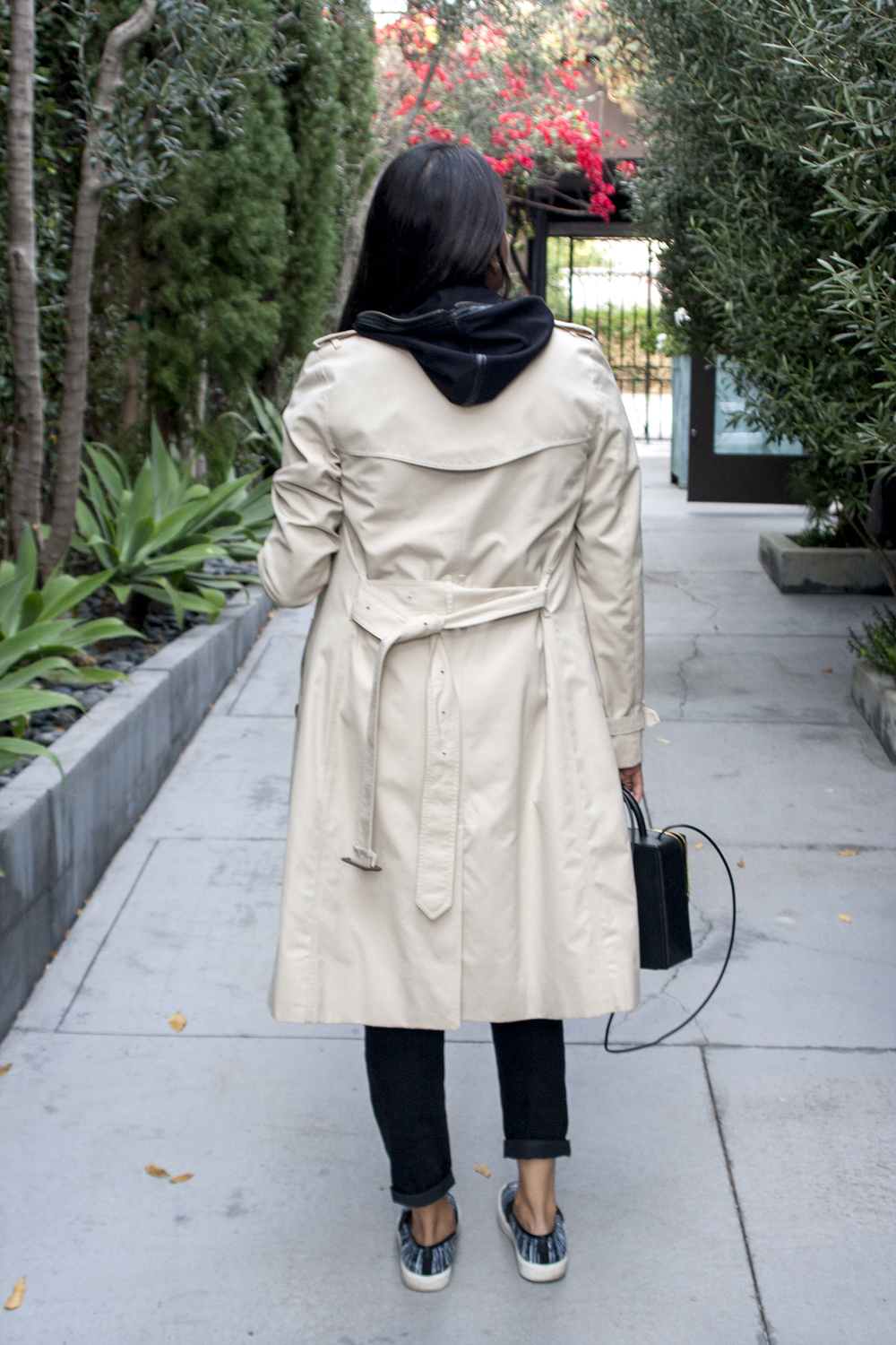 Burberry Trench Coat California Casual
