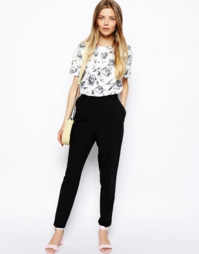 ASOS  Pants in Straight Leg with High Waist $41   www.asos.com