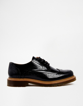 ASOS  Bronx Black Leather Oxford Flat Shoes $142   www.asos.com
