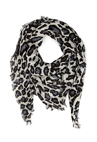 Forever21   Leopard Print Woven Scarf $12   www.forever21.com