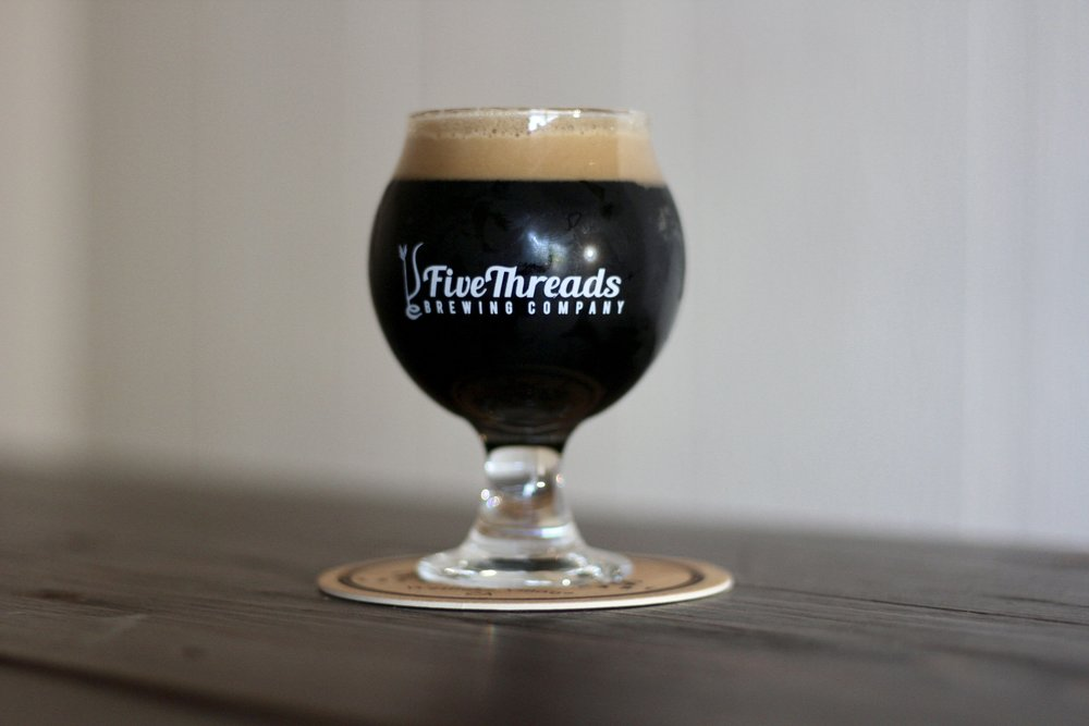 Cherenkov stout | russian imperial stout  42 IBU, 12.3% ABV  Our 2nd Anniversary edition is aged in bourbon barrels with cocoa nibs & vanilla beans. Cherenkov tastes richly of chocolate & roast.