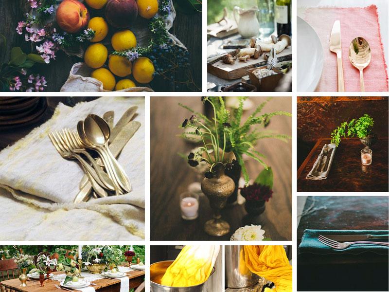 Setsun Supper moodboard by Kate & Design