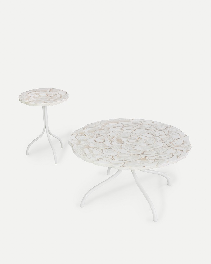 Co-Creative Studio, Detalia Aurora, Venus Tables, Fossilized Clamstone Lamination A.jpg
