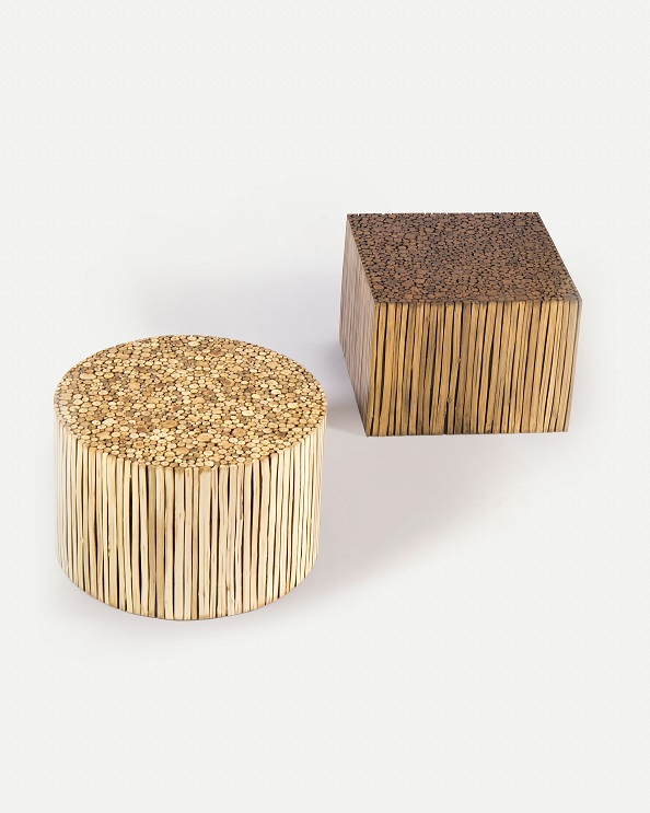 Co-Creative Studio, Detalia Aurora, Woodstuck Tables, Rattan Lamination A.jpg