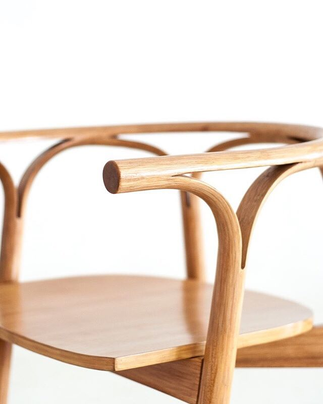 Here's a closer look at our Cafè Rattan chair. It looks simple, but the simpler the design, the more refined the material and workmanship should be. This design took us months to perfect, and it was well worth the time.