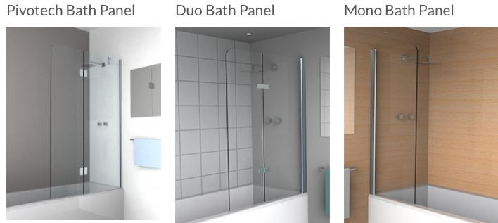 Pivotech Duo Mono Bath Panel