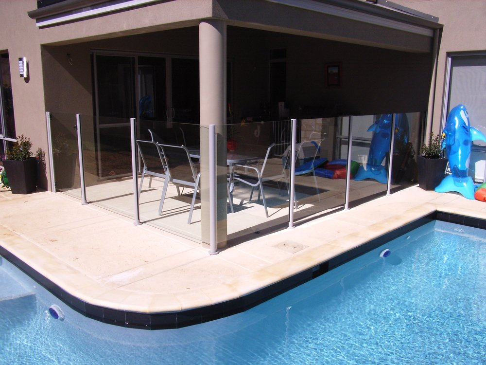 Pool Fencing - Glass or MODULAR