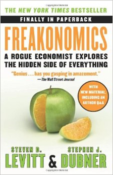 Freakonomics Author: Steven Levitt & Stephen Dubner Category: Economics Publishing Year: 2006 Length: 320 pages