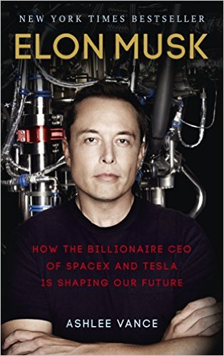 Elon Musk   How the Billionaire CEO of SpaceX and Tesla is Shaping our Future   Author: Ashlee Vance Category: Business, Biography Publishing Year: 2015 Length: 421 pages Difficulty:  Easy