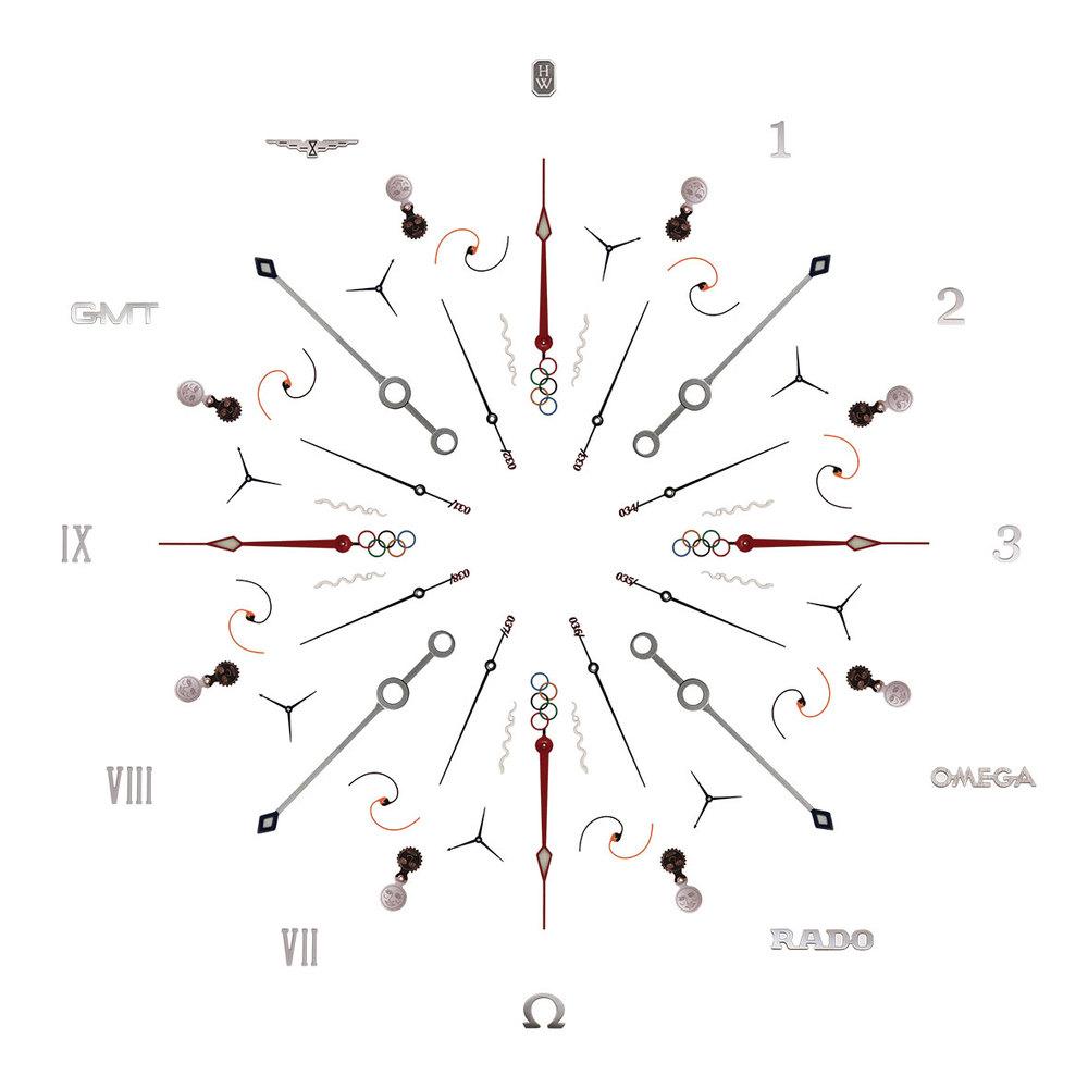 Kaleidoscope d'aiguilles pour UNIVERSO