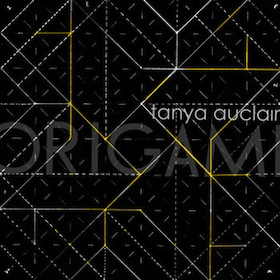 Tanya Auclair Origami EP Artwork