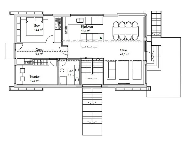 1. etasje