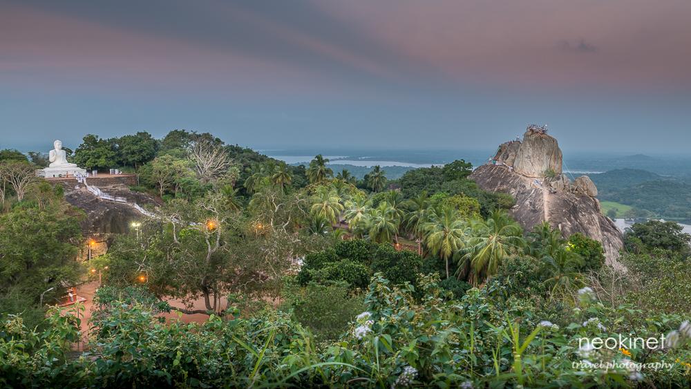 Aradhana Gala rock @Mihintale temple, Sri Lanka | Nikon D800 | Nikkor 24-70mm f/2.8 @ 27mm | 2.5 sec, f/11, ISO 100