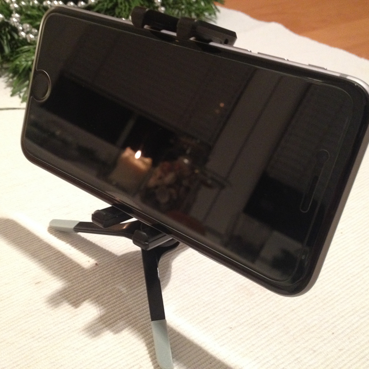 My iPhone 6 with Joby GripTight Micro Stand