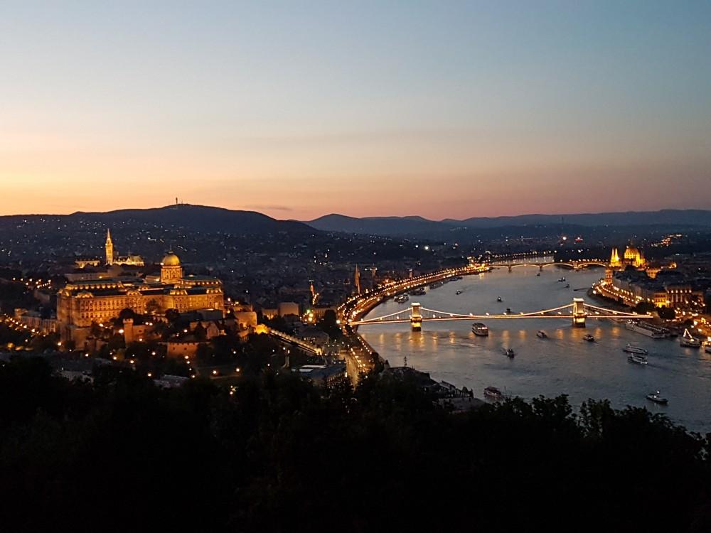 Palacio de Buda desde la Estatua de la Libertad