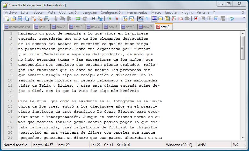 Texto en PDF