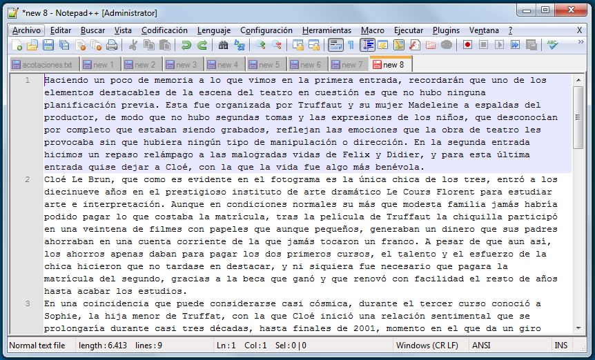 Texto en Word/txt/rtf/etc.