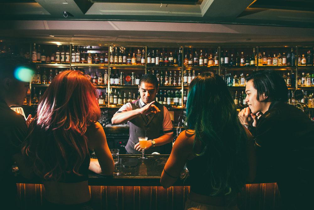 Cedric Mendoza /Manhattan Bar