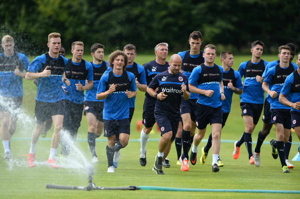 Nick Harvey setting the pace at Champneys during pre-season with a very young Reading squad.  Always enjoyable to join in with the running.