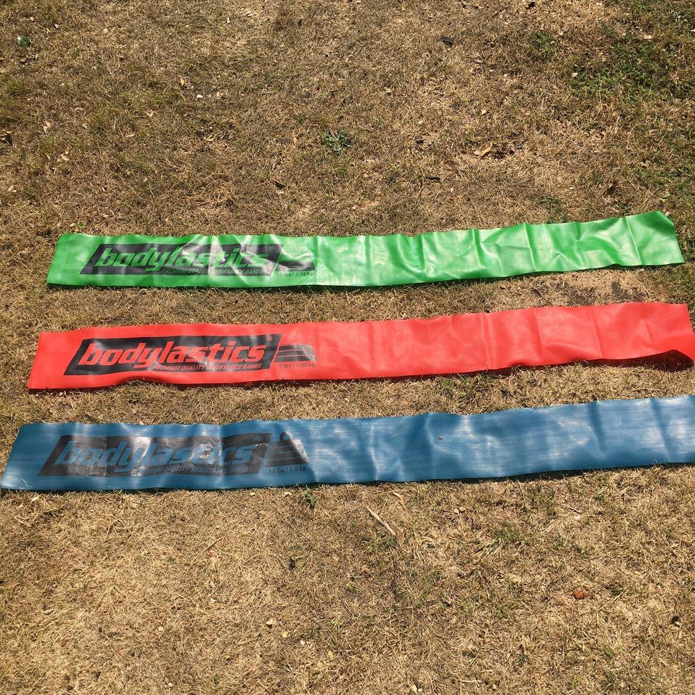 Flat Resistance Bands -