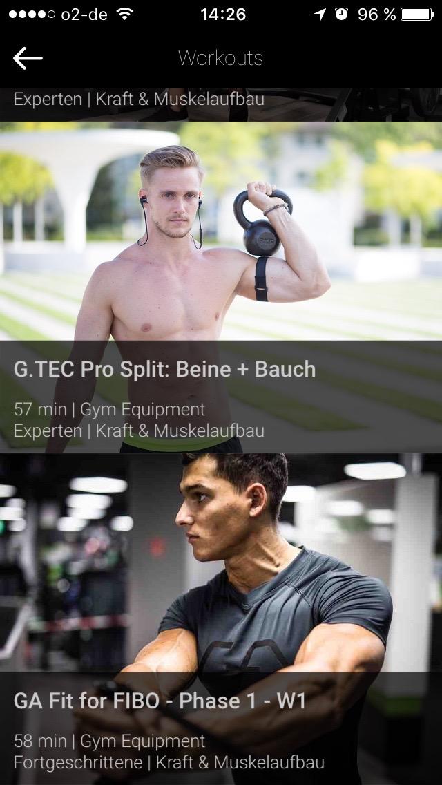 Für euch: Der G.TEC Pro Split Beine