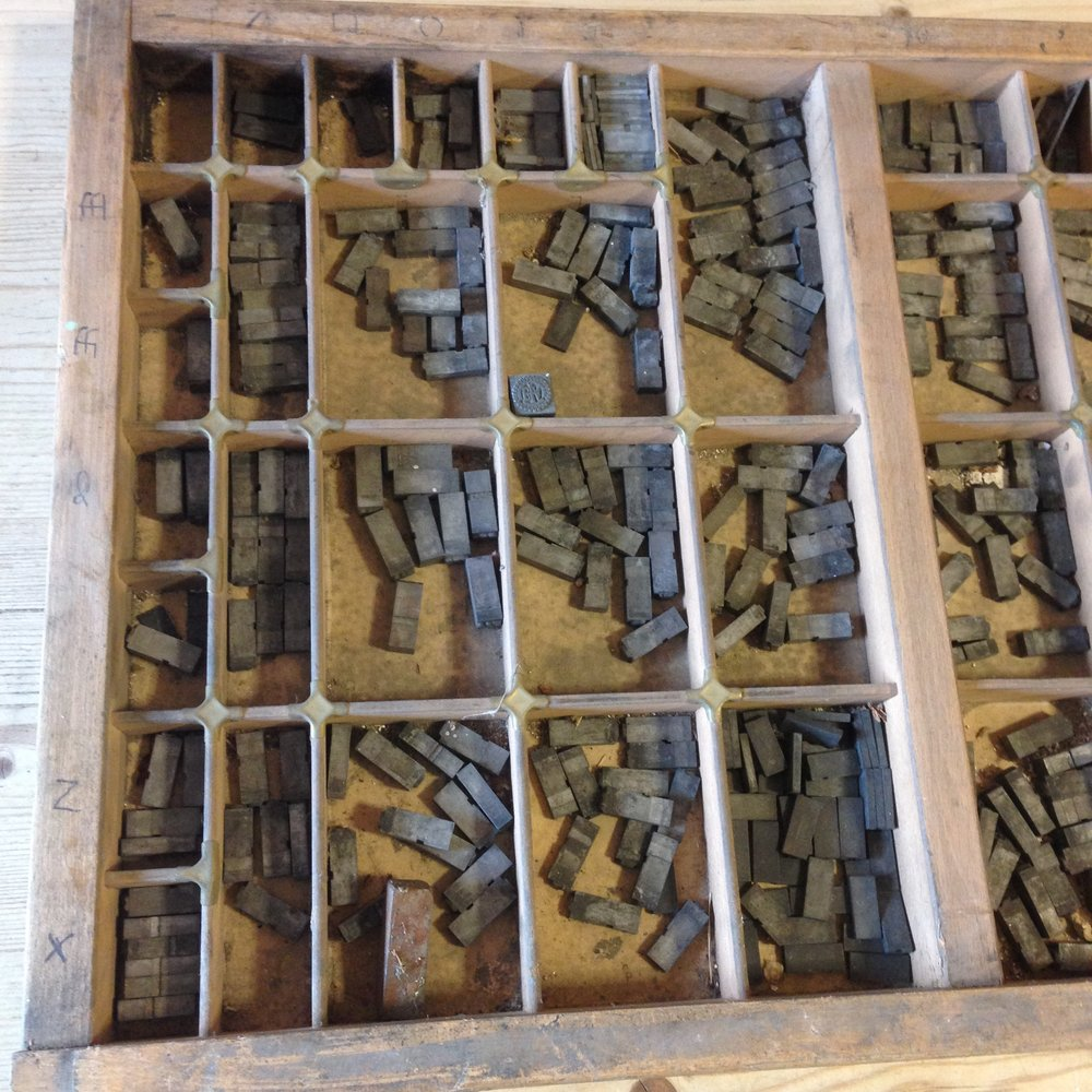 Business & Industrial Vintage Printing Tray