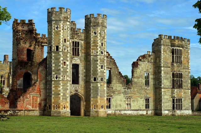 Cowdray Ruins. Photo credit: Paul Piper