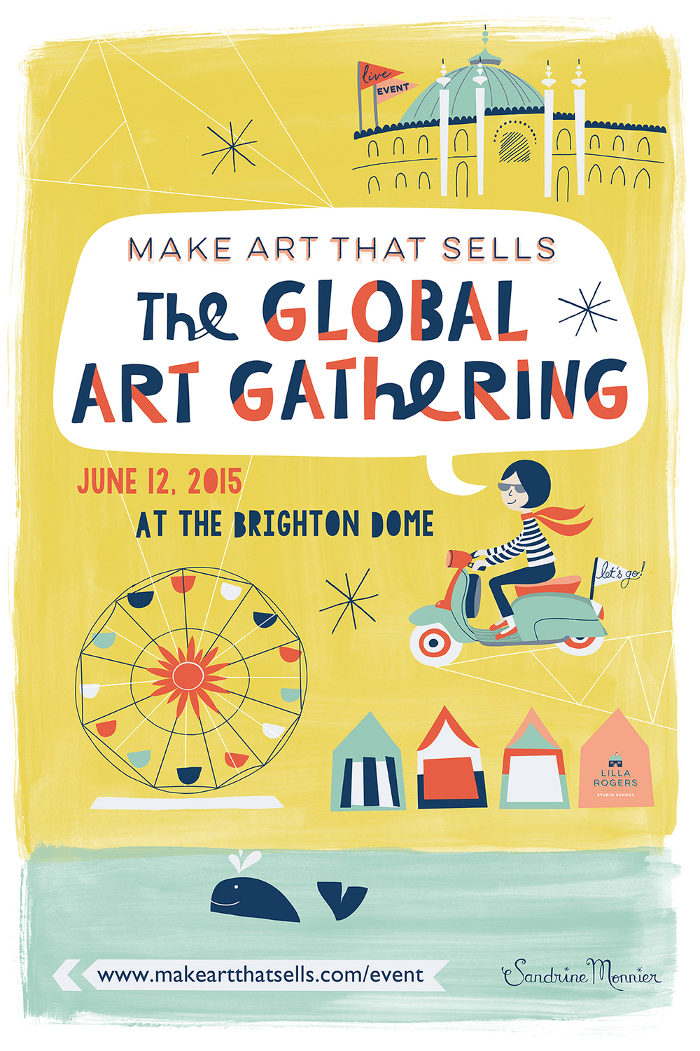 The global art gathering project