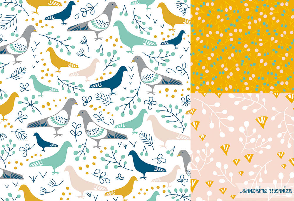 Pattern collection: Pigeon